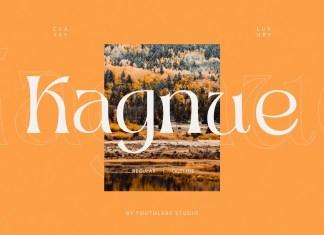 Kagnue Serif Font