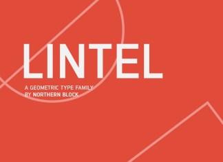 Lintel Sans Serif Font