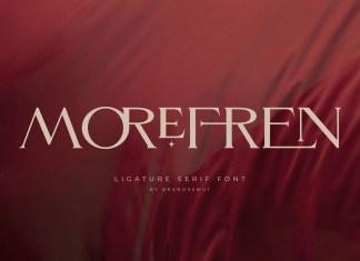 Morefren Serif Font