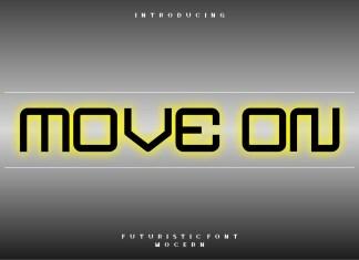 Move on Display Font