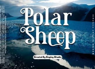 Polar Sheep Serif Font