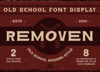Removen Display Font