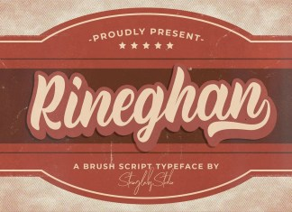 Rineghan Script Font