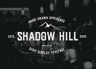 Shadow Hill Display Font