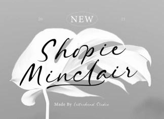 Shopie Minclair Font