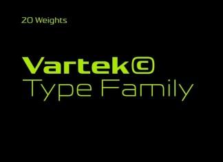 Vartek Sans Serif Font