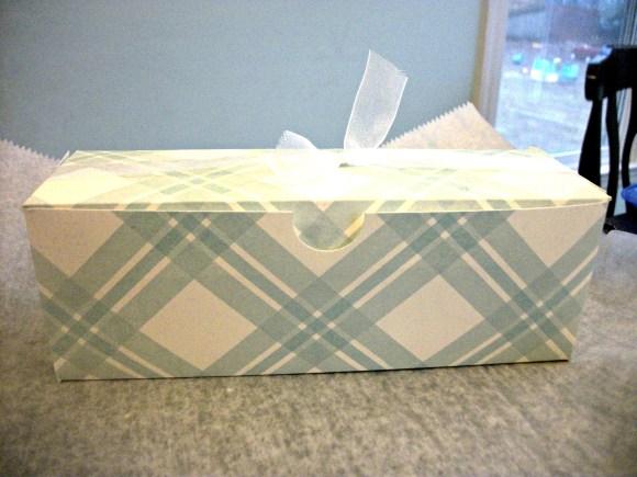 Muffin Box Closeup