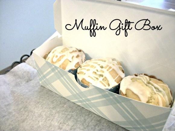 Muffin Gift Box Closeup