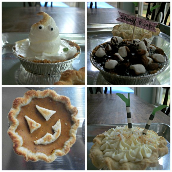 individual pie collage