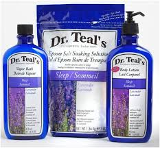 Amazing bath products by Dr. Teal's
