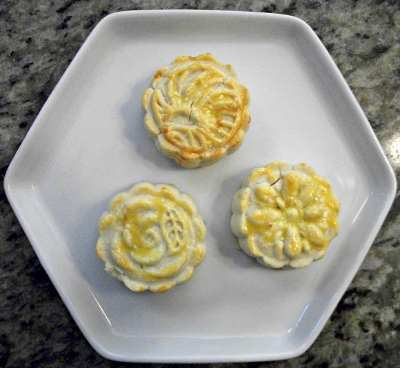 A modern take on mooncakes. Enriched pie crust filled with fruit jam. Before3pm.com