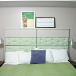 DIY Folding Headboard. Before3pm.com