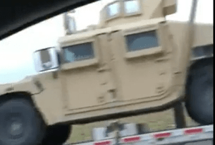 Jade Helm Update: Military Vehicles Spotted Behind Midland Texas Walmart (VIDEO)