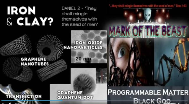 The Mark of the Beast – Black Goo! Going Down The Graphene Oxide Clot Shot Rabbit Hole! Dr. Lee Merritt - The Medical Rebel! Dr. Richard Fleming -The Jab Changes DNA. Trudeau - Ages 5 To 11 Need To Be Jabbed! Project Looking Glass!