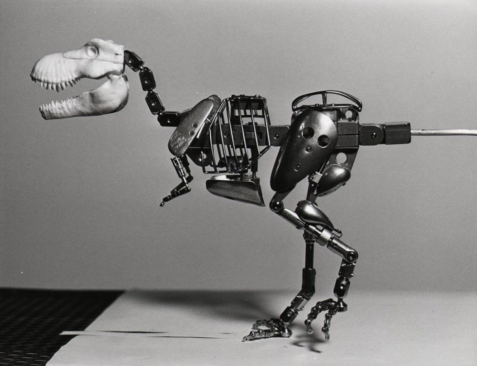Tippett Studio's Jurassic Park stop-motion puppets