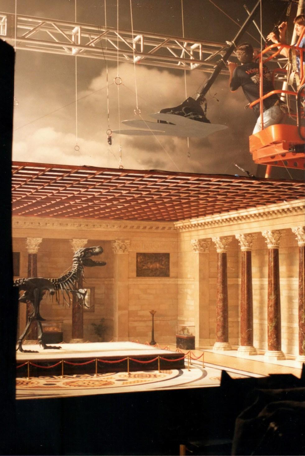 T-Rex miniature for Godzilla teaser