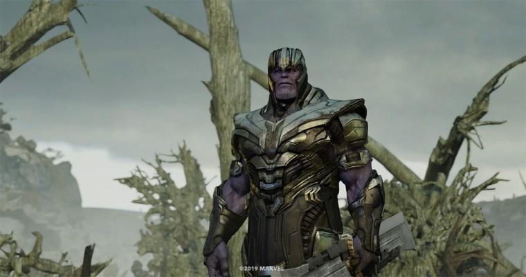Weta Digital's CG Thanos.