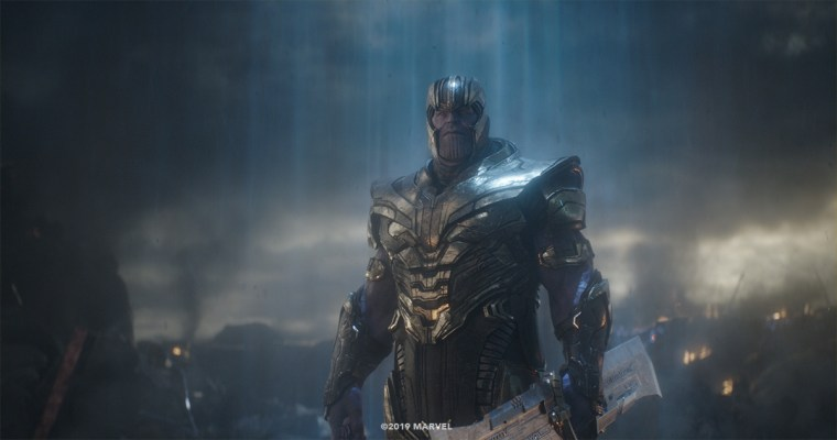 Weta Digital's CG Thanos final shot