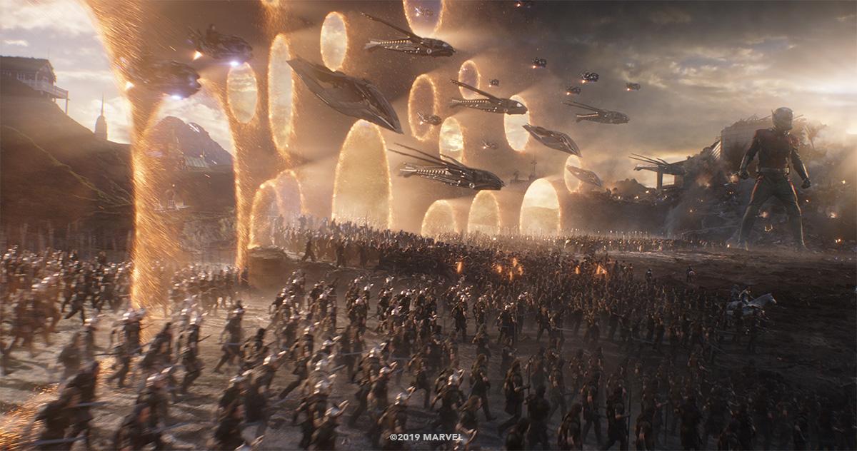 Endgame's' battle against Thanos