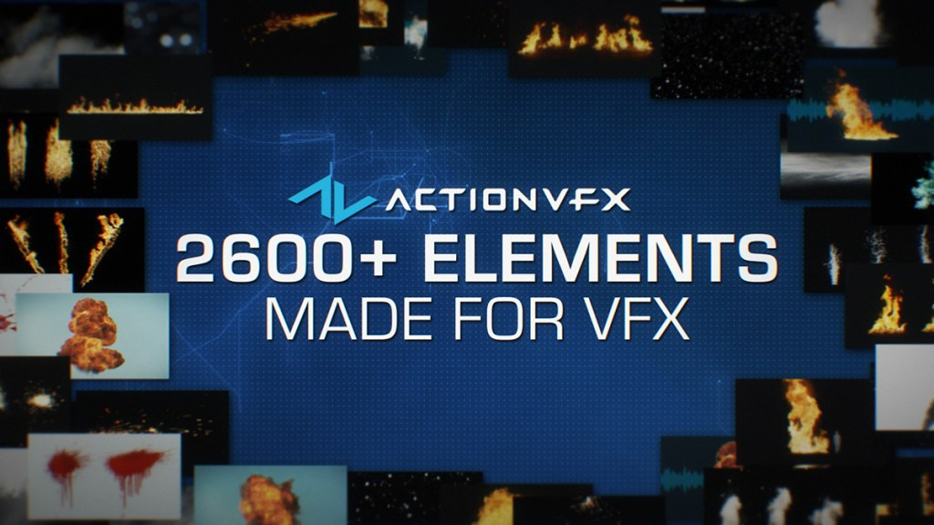 Get premium stock footage for visual effects from ActionVFX