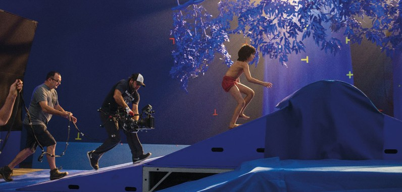 Filming on 'The Jungle Book