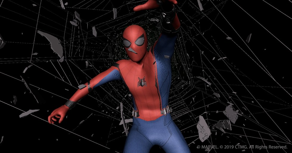 Crazy spiderman