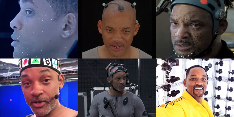 Will Smith's incredible digital alter egos