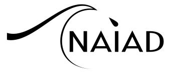 The original Naiad logo