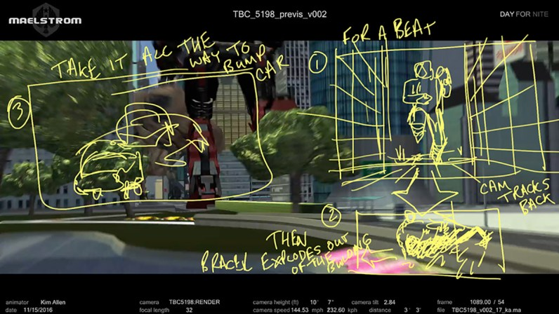 cineSync session screengrab from 'Pacific Rim: Uprising'