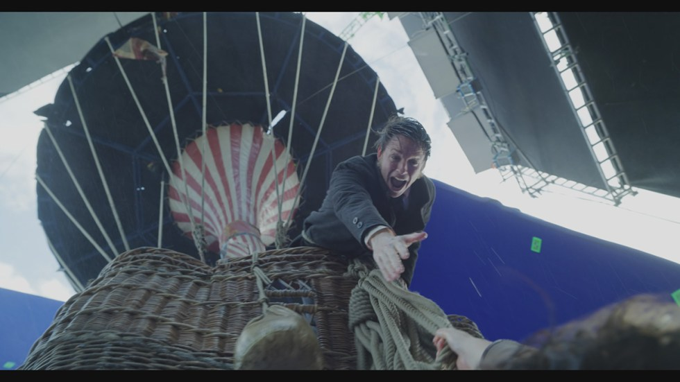 The Aeronauts VFX shot
