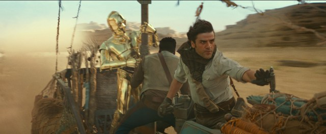 Rise of Skywalker's' Pasaana speeder chase