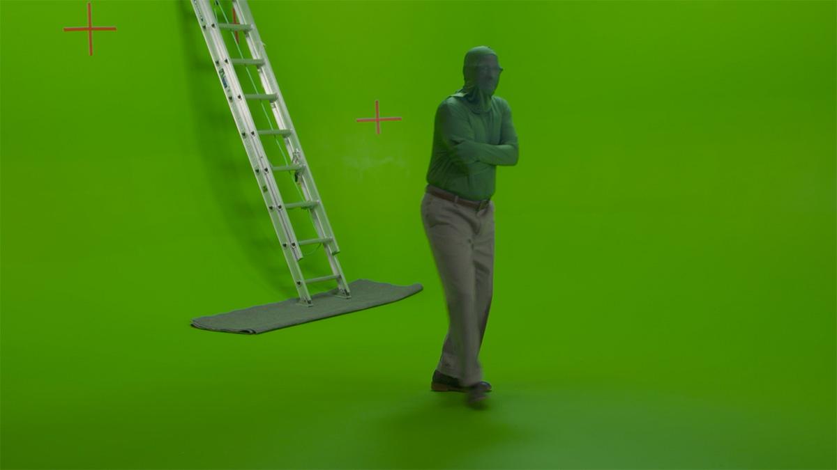 Greenscreen experiments