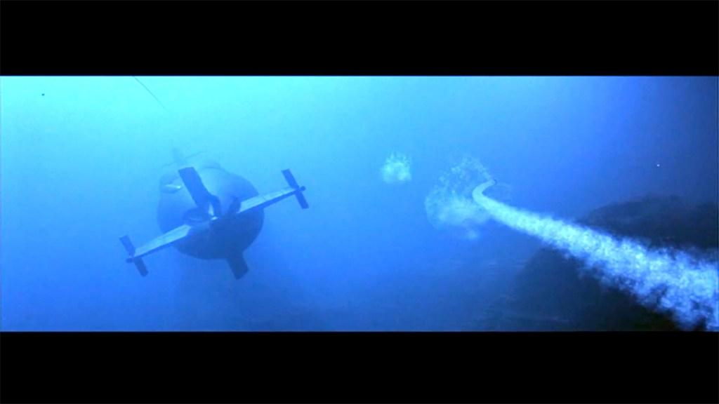 The CG side of 'Crimson Tide'