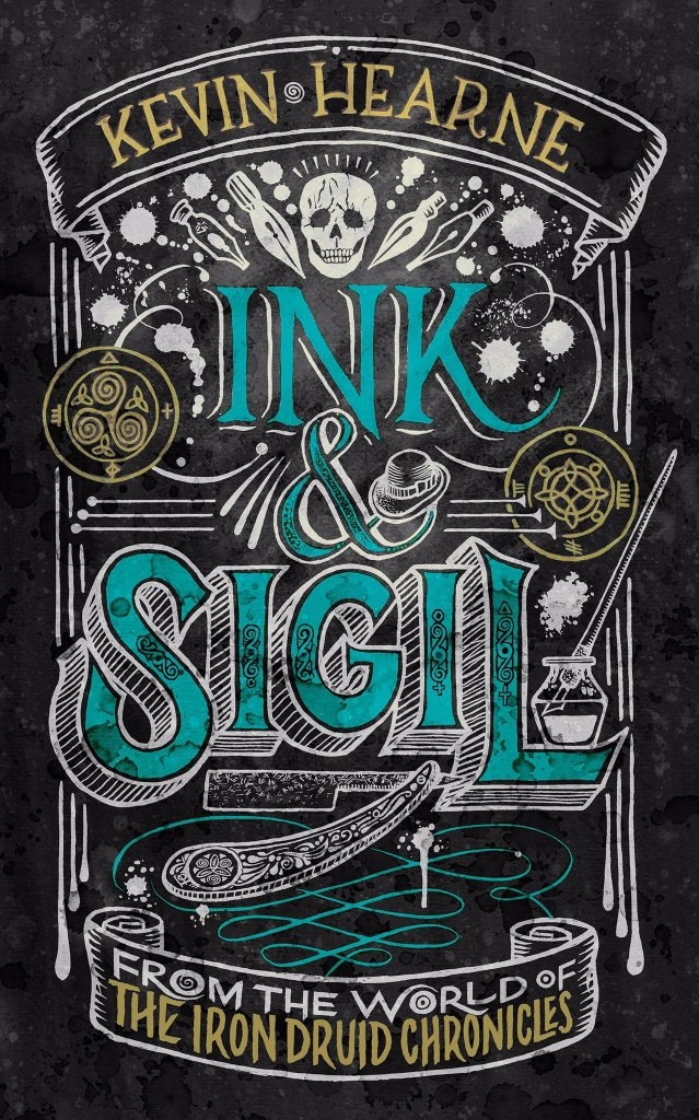 Ink and Sigil Cover by Kevin Hearne