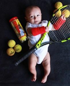 tenista baby