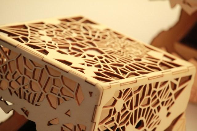 Found in Translation: Voronoi Gift Box