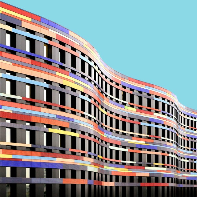 Office for urban development and environment, Hamburg, by Sauerbruch Hutton. (one of the very few i didn't have to add extra color)© Paul Eis