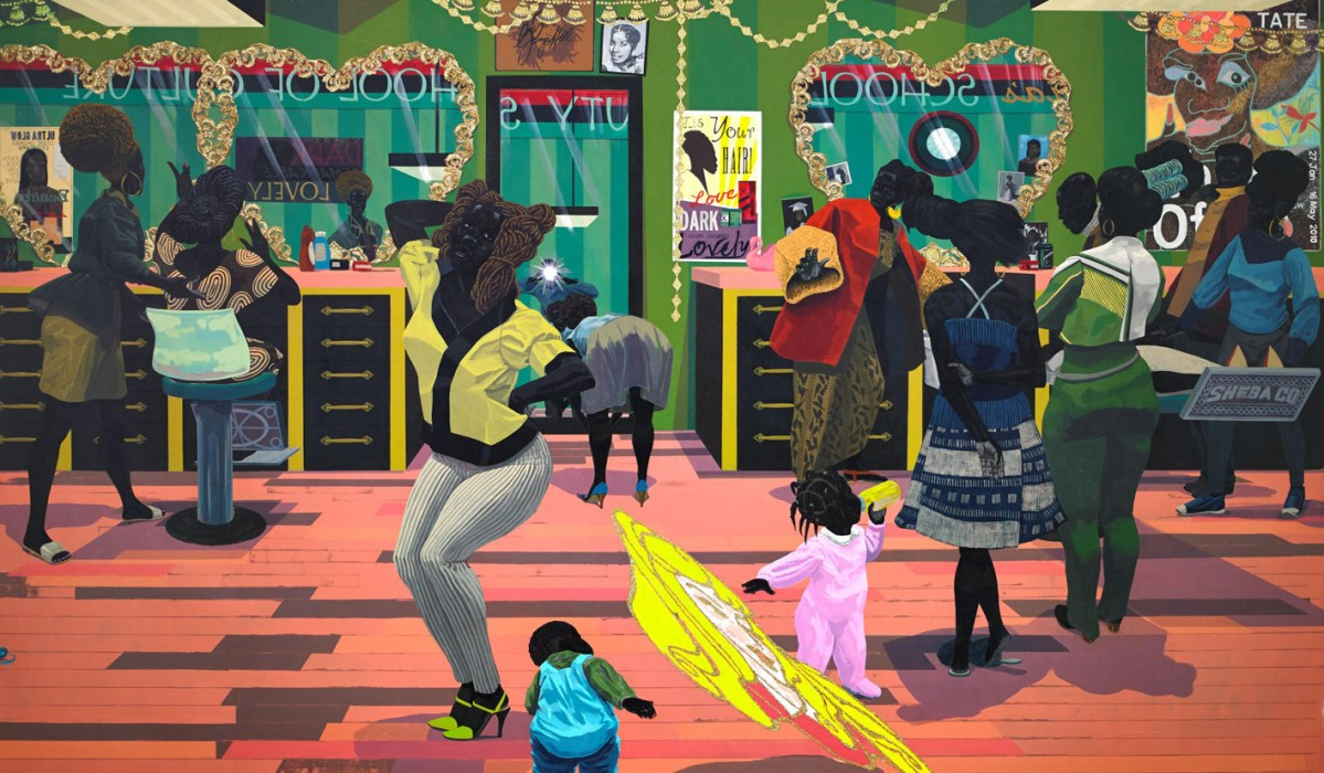 Kerry James Marshall: Don't Sweat the Technique   BeFront ...