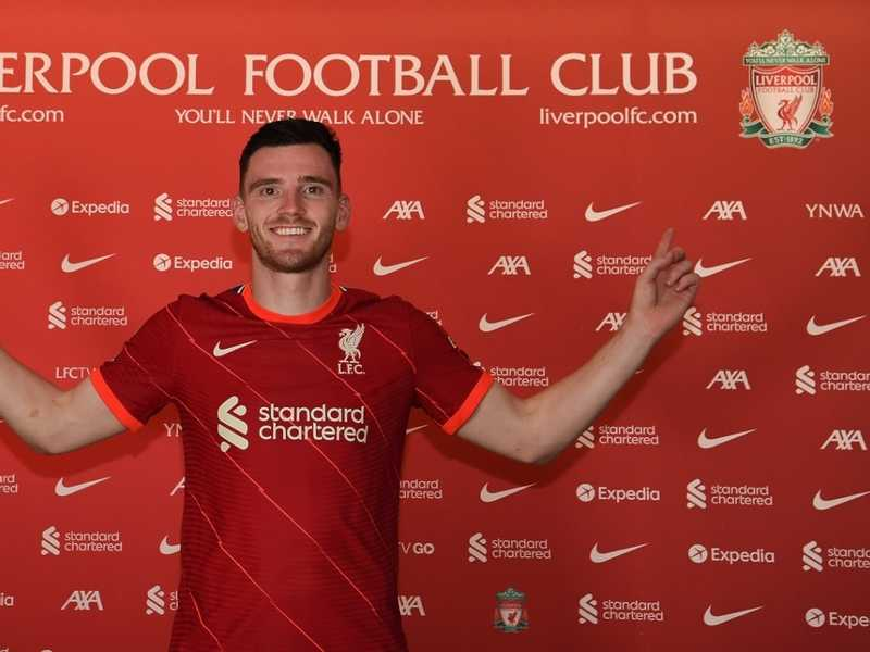 Liverpool extend Robertson's contract until 2026