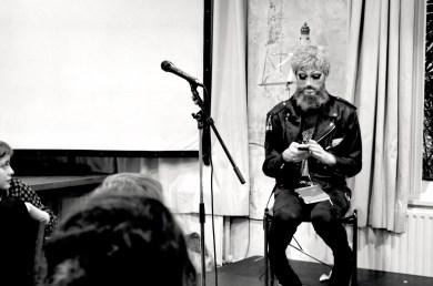 James Cawson performing at BBS#5