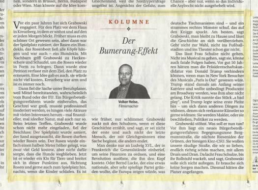BegegnungBergmann 16103 Berliner Zeitung Nr.58 Seite 8 Kolumne _ff_ff_ff