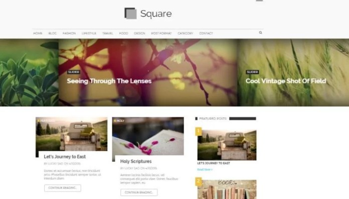 Square Modern Magazine