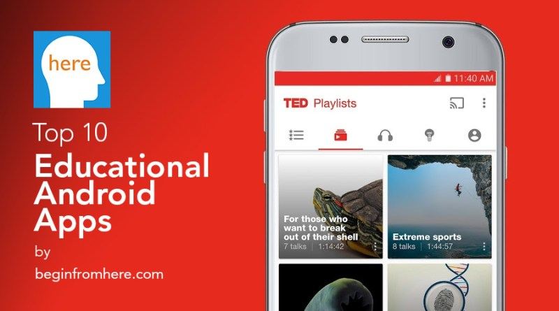 Top 10 Educational Android Apps
