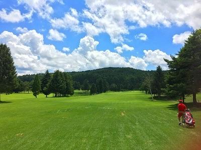 iizuna-nakogen golf curse 3