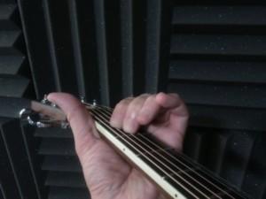 first guitar chord