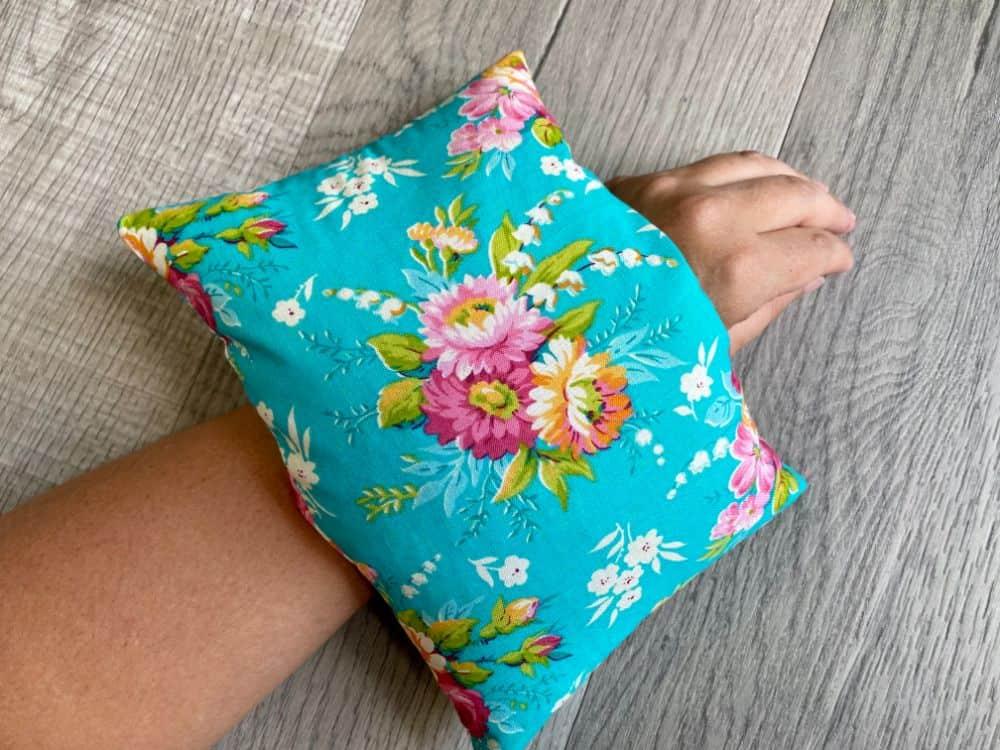 DIY Rice Filled Heating Pad - Easy Sewing Tutorial