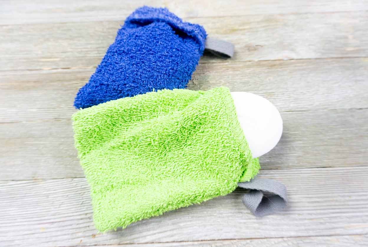 Easy Sew Soap Saver Pouch Tutorial