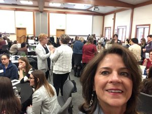 Terri Mattson at women in agriculture conference