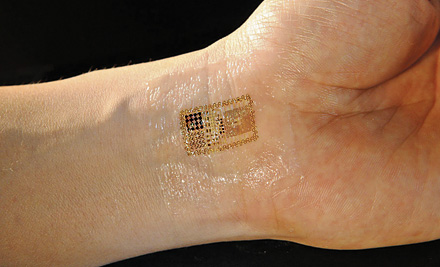 Image result for Electronic skin tattoo RFID