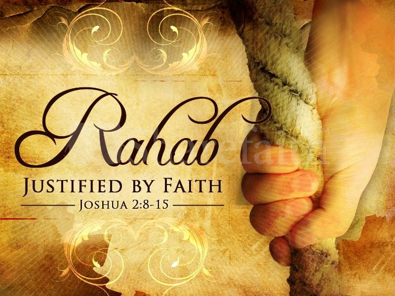 Rahab is Justified